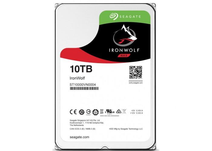 Жесткий диск Seagate IronWolf 10 TB (ST10000VN0004)